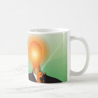 ナイフの引出しの最も明るい球根 コーヒーマグカップ