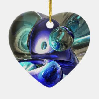 ナイルの抽象芸術のオーナメントの宝石 セラミックオーナメント