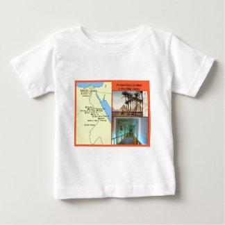 ナイルの谷の考古学的な場所 ベビーTシャツ
