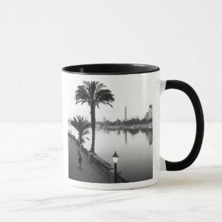 ナイル川に沿うカイロエジプト、 マグカップ
