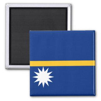 ナウルの国民の世界の旗 マグネット