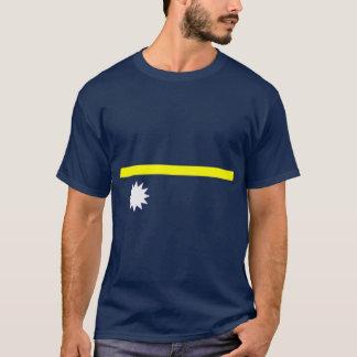 ナウルの旗のワイシャツ Tシャツ