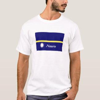 ナウルの旗の記念品のTシャツ Tシャツ
