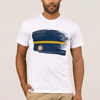 ナウルの旗のTシャツ Tシャツ
