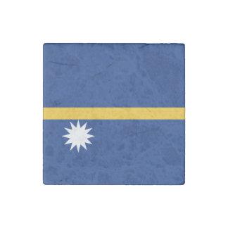 ナウルの旗 ストーンマグネット