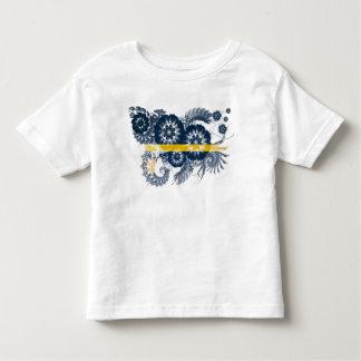 ナウルの旗 トドラーTシャツ