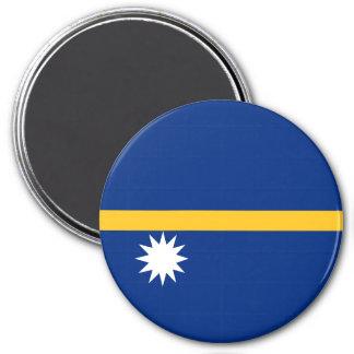 ナウルの旗 マグネット