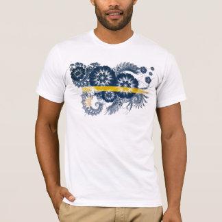 ナウルの旗 Tシャツ