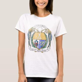 ナウルの紋章付き外衣 Tシャツ