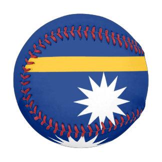 ナウルの野球の旗 野球ボール