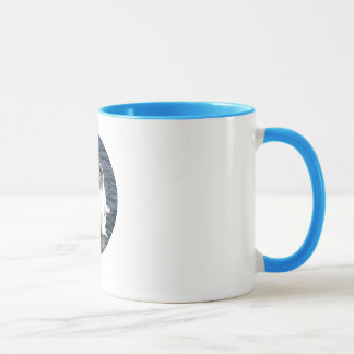 ナキハクチョウ- I愛野鳥観察のコップ マグカップ