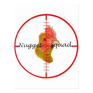 ナゲットの分隊のスワッグ ポストカード