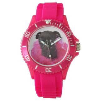 ナゲット、APARN SpokesPugのスポーティな腕時計 腕時計