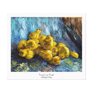 ナシのゴッホの絵画の静物画 キャンバスプリント
