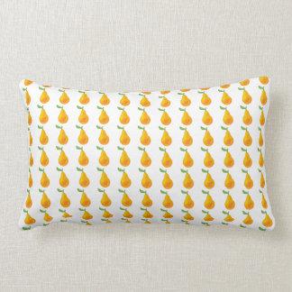 ナシのフルーツのオリジナルパターン ランバークッション