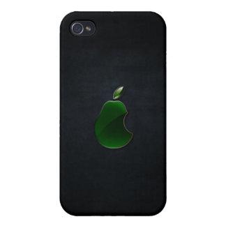 ナシのロゴのiphoneの場合 iPhone 4/4S case