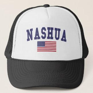 ナシュア米国の旗 キャップ