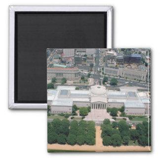 ナショナル・ギャラリーの空中写真 マグネット