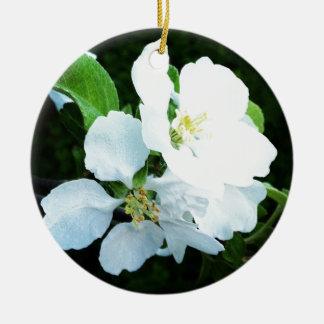ナシ木の花 セラミックオーナメント