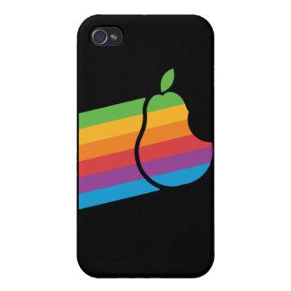 ナシ-レトロのパロディ iPhone 4 COVER