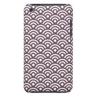 ナスの幾何学的なipod touch G4の場合 Case-Mate iPod Touch ケース