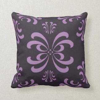 ナスの紫色の新しいの華麗さの装飾の枕 クッション