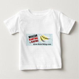 ナスカーRnRのロゴ(広い) ベビーTシャツ