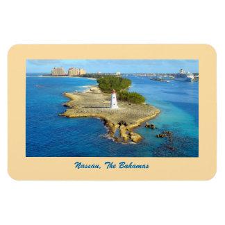 ナッサウの楽園の島ライト マグネット