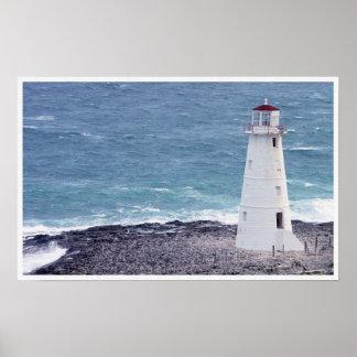 ナッサウの灯台 ポスター