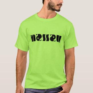 ナッサウのambigram tシャツ