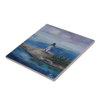 ナッサウ港の灯台 タイル