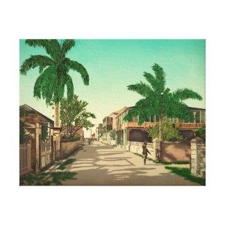 ナッサウ、バハマのファインアート キャンバスプリント
