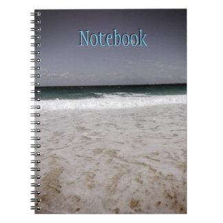 ナッサウ、バハマの海岸 ノートブック