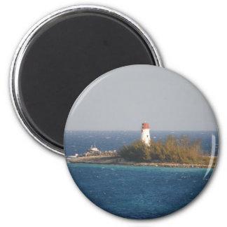 ナッサウ、バハマの灯台 マグネット