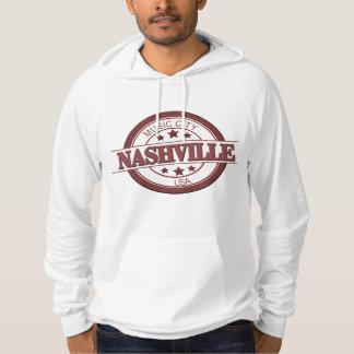 ナッシュビルのアメリカの服装のプルオーバーのフード付きスウェットシャツ パーカ