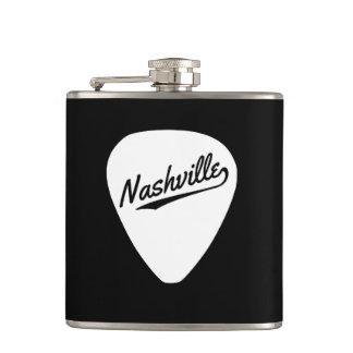 ナッシュビルのギターピック フラスク