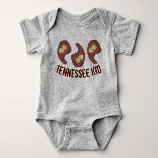 ナッシュビルのスタイル熱いBBQの鶏のテネシー州の子供TN ベビーボディスーツ