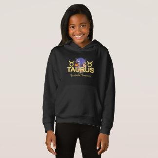 ナッシュビルのトーラスの女の子のフード付きスウェットシャツ