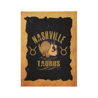ナッシュビルのトーラスの(占星術の)十二宮図木ポスター ウッドポスター