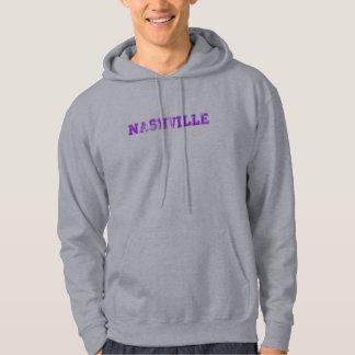 ナッシュビルのフード付きスウェットシャツ パーカ