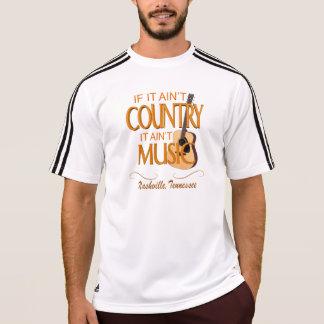 ナッシュビルの国の男性アディダスClimaLite®のTシャツ Tシャツ