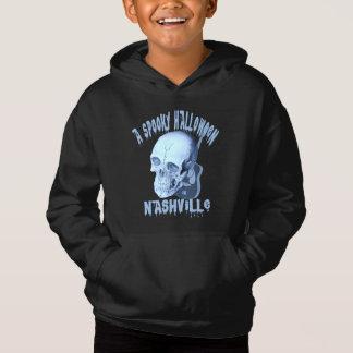ナッシュビルの子供のフード付きスウェットシャツの気味悪いハロウィン