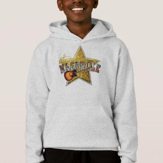 ナッシュビルの星の子供のHanes ComfortBlend®のフード付きスウェットシャツ
