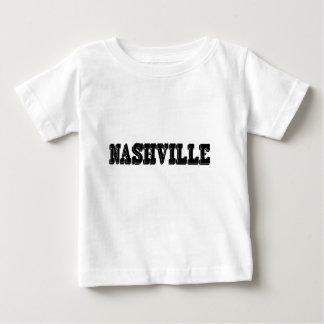 ナッシュビルの黒のブロック ベビーTシャツ