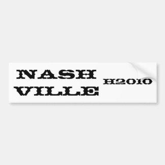 ナッシュビルのH2010バンパーステッカー バンパーステッカー