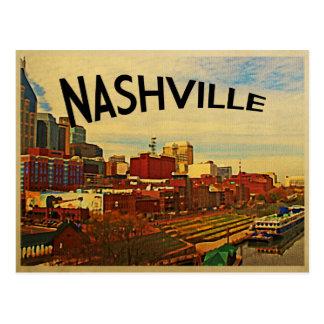 ナッシュビルテネシー州のスカイライン ポストカード