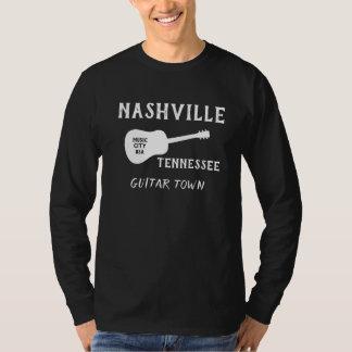 ナッシュビルテネシー州の長袖のTシャツ Tシャツ