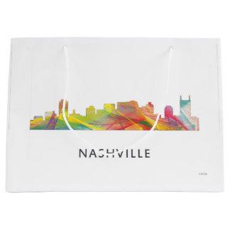 ナッシュビル、テネシー州のスカイラインWB1 - ラージペーパーバッグ