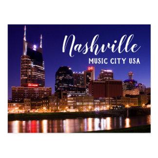 ナッシュビル --- 音楽都市米国 ポストカード
