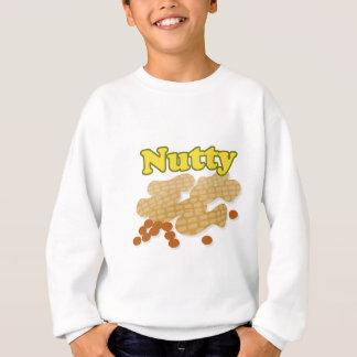 ナッツ味のピーナツ スウェットシャツ